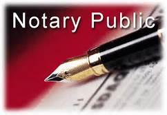 Notary Public's Pen